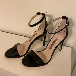 Zara classic black sandals high heels